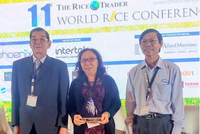 Một trong 3 'cha đẻ' của gạo ngon nhất thế giới ST25 đón tin vui