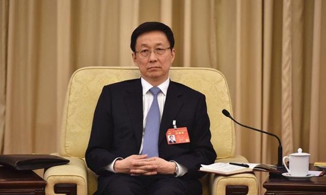 Phó thủ tướng Trung Quốc Hàn Chính tại Bắc Kinh, tháng 3/2017. Ảnh: Reuters.