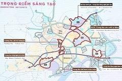 Đề xuất quy hoạch lại 3 khu vực ở Khu đô thị sáng tạo