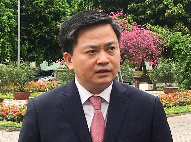 ông Lê Đức Thọ, Chủ tịch HĐQT VietinBank. Ảnh: L.H