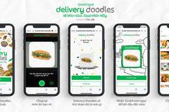 Grab ra mắt Delivery Doodles, chỉ cần vẽ hình dáng đồ ăn để gọi món