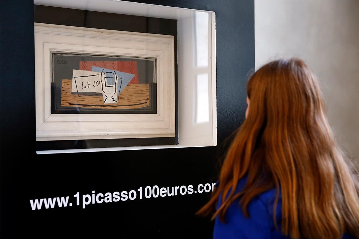 Trở thành người sở hữu bức tranh của Picasso trị giá 1,1 triệu USD nhờ tấm vé số 110 USD