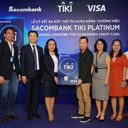 Hoàn tiền 15% khi mua sắm với thẻ tín dụng đồng thương hiệu Sacombank Tiki Platinum