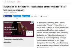 Nghi án công ty Nhật ở Bắc Ninh hối lộ 5,4 tỷ đồng để trốn thuế