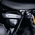 """<p class=""""Normal""""> Bản thân mẫu xe dựa trên Triumph Scrambler XE giữ nguyên thông số kỹ thuật bằng cách sử dụng động cơ 1.200cc công suất 89 mã lực tại 7.400 vòng/phút và mô-men xoắn 110 Nm tại 3.950 vòng/phút.</p>"""