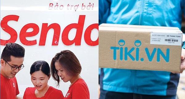 Nếu sáp nhập, Tiki và Sendo có 'giẫm chân' nhau?