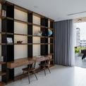 <p> Phòng đọc sách ở tầng 3 tiếp giáp với ban công rộng, nơi có thể vừa đọc sách, vừa thư giãn, nghỉ ngơi, chơi các trò chơi giải trí.</p>