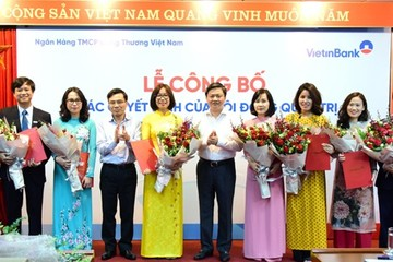 VietinBank bổ nhiệm loạt nhân sự