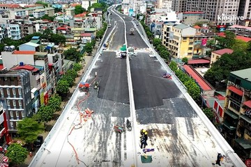 Vigroup đã giải ngân hơn 5.800 tỷ đồng vào dự án đường Vành đai 2
