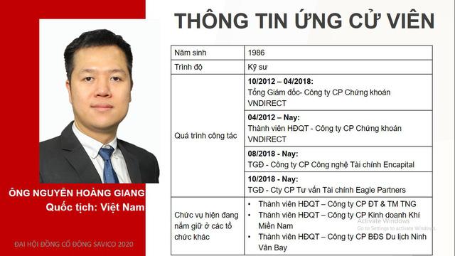 Ông Nguyễn Hoàng Giang hiện đang là Thành viên HĐQT tại Chứng khoán VNDirect (VND).