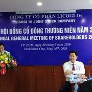 Tổng giám đốc LDG ứng cử vào HĐQT Licogi 16
