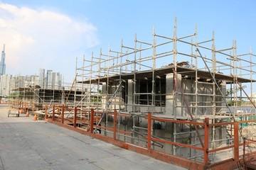 Ga Ba Son tuyến metro số 1 sẽ hoàn thành vào cuối năm nay