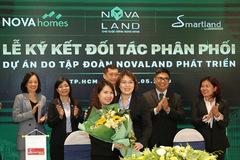 Nhiều đối tác tham gia phân phối các sản phẩm bất động sản do Novaland phát triển