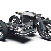Diện mạo mẫu xe BMW Motorrad ESMC có khả năng vượt địa hình
