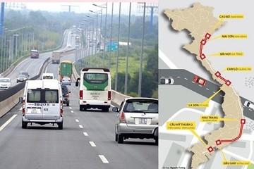 11 dự án cao tốc Bắc - Nam có 'điểm ra' qua các tỉnh, thành phố nào?