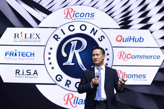 Ricons muốn phát triển hệ sinh thái, logo không còn 'Coteccons Group'