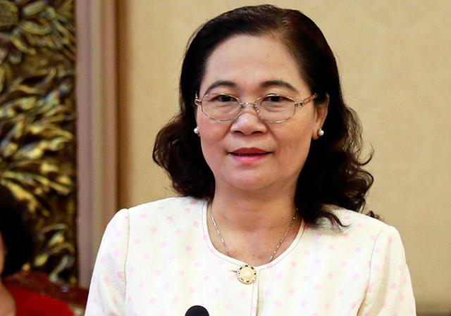 Chủ tịch HĐND TP HCM Nguyễn Thị Lệ.