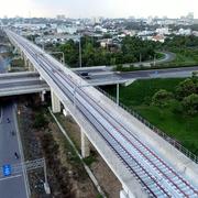 JICA kiểm tra tiến độ tuyến metro số 1