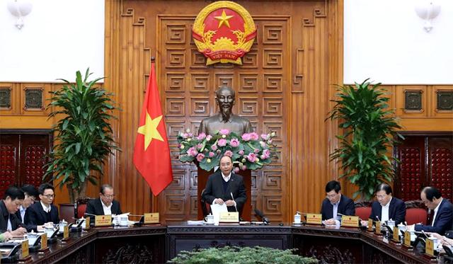 Thủ tướng Nguyễn Xuân Phúc chủ trì họp thường trực Chính phủ tháo gỡ khó khăn cho ngành mía đường.