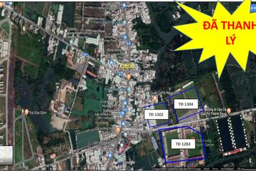 Sacombank đã bán xong 3 lô đất 'khủng' tại Bình Chánh, TP HCM