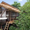<p> Thông qua những khoảng trống này, mọi người có thể tận hưởng các khu vực chung và cây xanh xung quanh dưới cùng một mái nhà.</p>