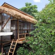 'Túp lều' gỗ nhỏ ở TP Huế