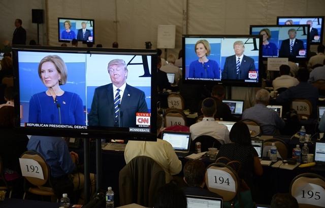 Carly Fiorina từng cạnh tranh với Donald Trump để trở thành ứng viên đại diện đảng Cộng hòa trong cuộc bầu cử tổng thống Mỹ năm 2016. Ảnh: New York Times.