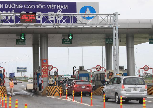 hu phí không dừng trên cao tốc Cầu Giẽ - Ninh Bình từ 10/6.