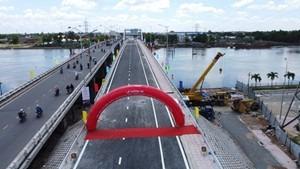 Long An thông xe 6 cây cầu