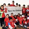 <p> Ngôi sao bóng đá này cũng tích cực tham gia hoạt động từ thiện, điển hình như việc quyên góp 165.000 USD cho một trung tâm nghiên cứu ung thư ở Bồ Đào Nha. Khi đại dịch Covid-19 bùng phát trên toàn thế giới, bên cạnh việc đóng góp 1 triệu euro để chống lại dịch bệnh này, Ronaldo cũng kêu gọi các đồng đội tuyển Bồ Đào Nha chung tay gây quỹ hỗ trợ đồng nghiệp. (Ảnh: <em>Save The Children</em>)</p>