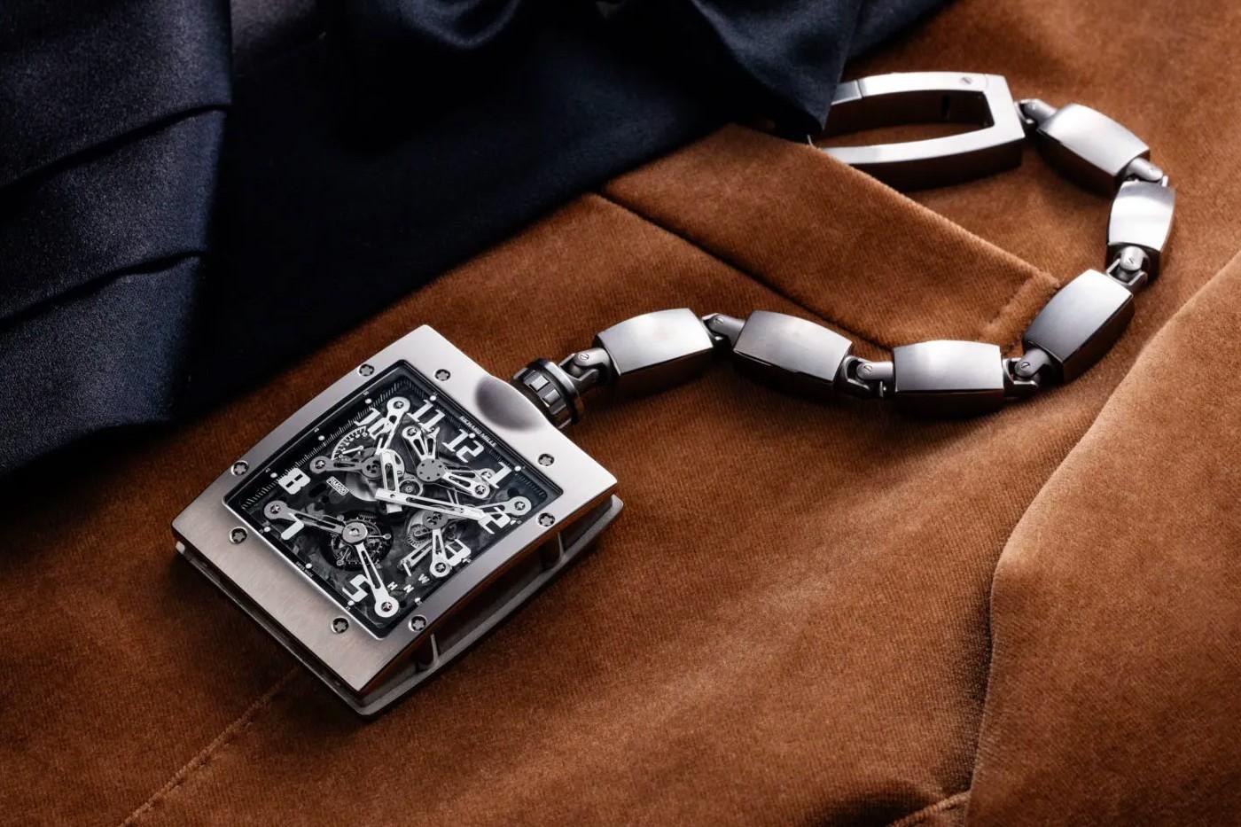 Richard Mille và mẫu đồng hồ bỏ túi Tourbillon mới