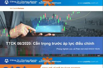 YSVN: Thị trường chứng khoán tháng 6 - Cẩn trọng trước áp lực điều chỉnh