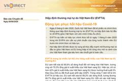 VNDS: EVFTA - Động lực phục hồi hậu Covid-19