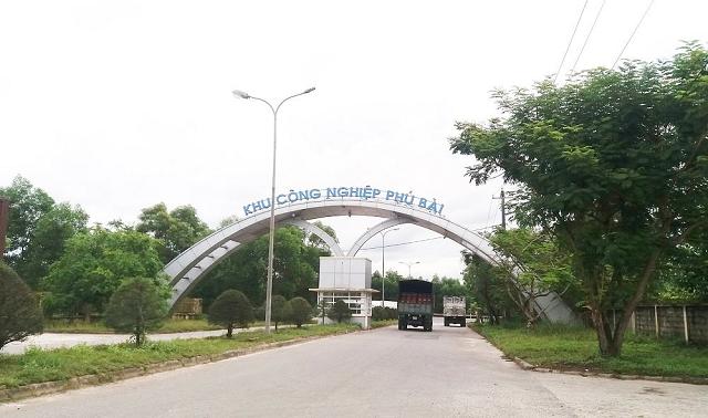 Kêu gọi đầu tư dự án xây dựng hạ tầng Khu Công nghiệp Phú Bài