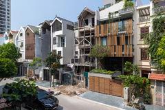 Gợi ý kiến trúc mới cho một biệt thự liền kề