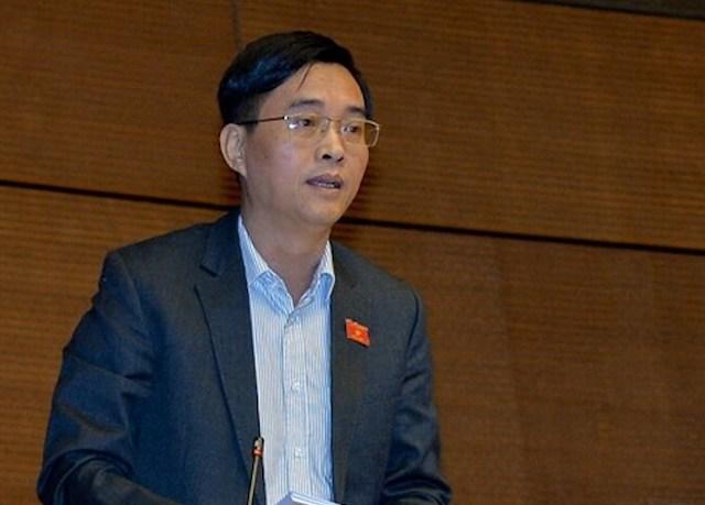 Ông Hoàng Quang Hàm - uỷ viên Uỷ ban Tài chính ngân sách.