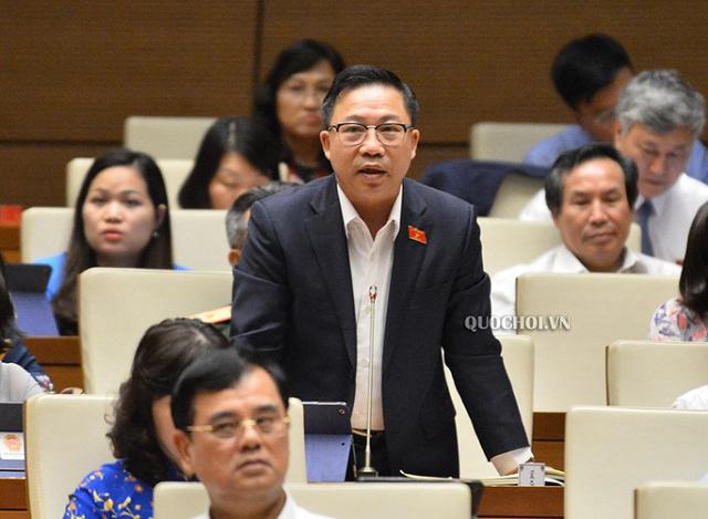 Đại biểu Quốc hội Lưu Bình Nhưỡng (Bến Tre), Phó Ban Dân nguyện thuộc Ủy ban Thường vụ Quốc hội - Ảnh: Quochoi.vn
