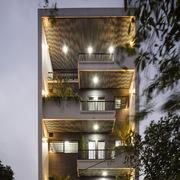 Ngôi nhà 5 tầng vừa để ở, vừa là nơi giảng dạy ở Bắc Ninh