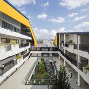 Ngôi trường ở Hòa Bình hướng đến sự thân thiện, hài hòa với núi rừng Tây Bắc
