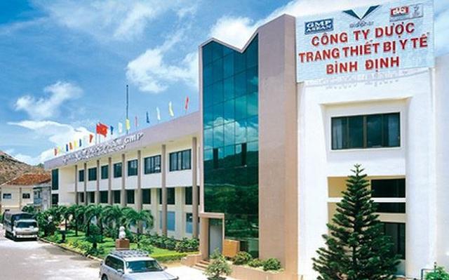 Dược - Thiết bị Y tế Bình Định: Nhà máy thuốc ung thư chậm tiến độ đến cuối 2020