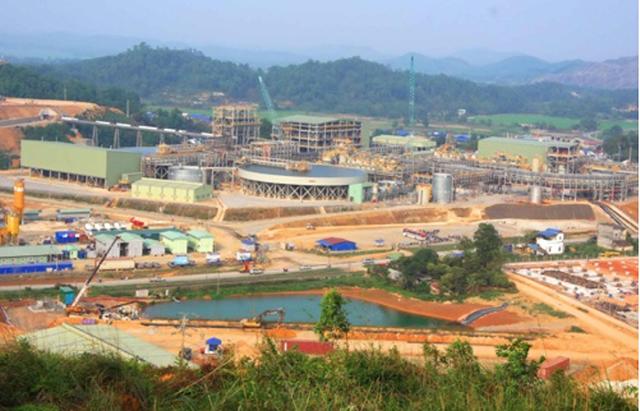 Dự án mỏ Núi Pháo tại huyện Đại Từ, tỉnh Thái Nguyên. Nguồn: Người Lao Động.