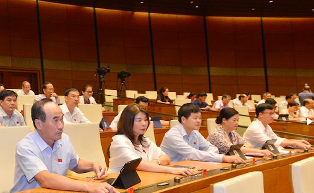 Luật Đầu tư sửa đổi vừa được Quốc hội thông qua với tỷ lệ gần 95% tổng số đại biểu tán thành.