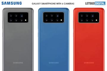 Samsung sắp ra smartphone 6 camera?