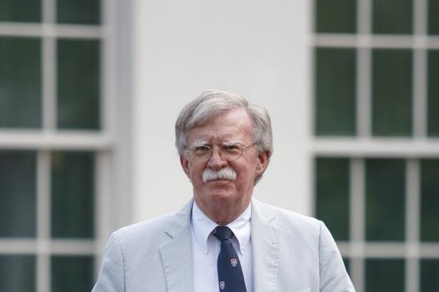 Cựu cố vấn an ninh quốc gia Mỹ John Bolton. Ảnh: Bloomberg.