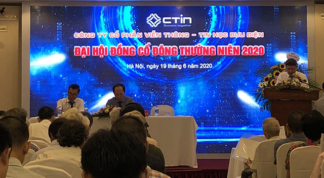 Đại hội cổ đông thường niên năm 2020 của CTIN. Ảnh: Hải Triệu.