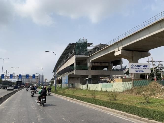 Giao mặt bằng xây dựng tuyến metro số 2 Bến Thành - Tham Lương