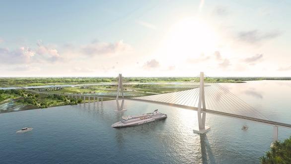Đề xuất xây cầu Rạch Miễu 2 nối Tiền Giang, Bến Tre trị giá 5.174 tỷ đồng