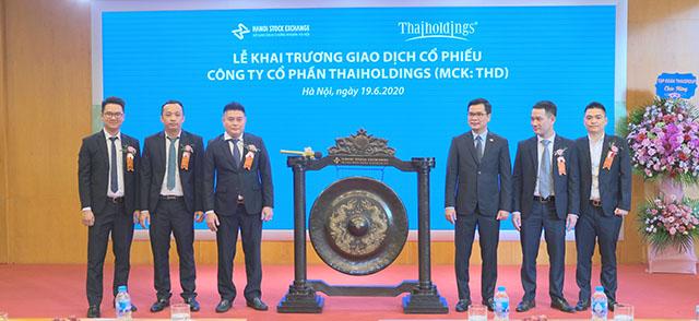 Cổ phiếu Thaiholdings tăng trần trong ngày đầu tiên giao dịch