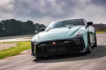 Siêu xe triệu đô Nissan GT-R50 sản xuất giới hạn 50 chiếc