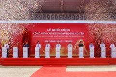 Vingroup khởi công công viên chủ đề 1 tỷ USD tại Hải Phòng